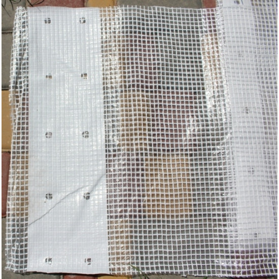 Плёнка  6х25 м. тепличная армированная LT 2000. Упаковка