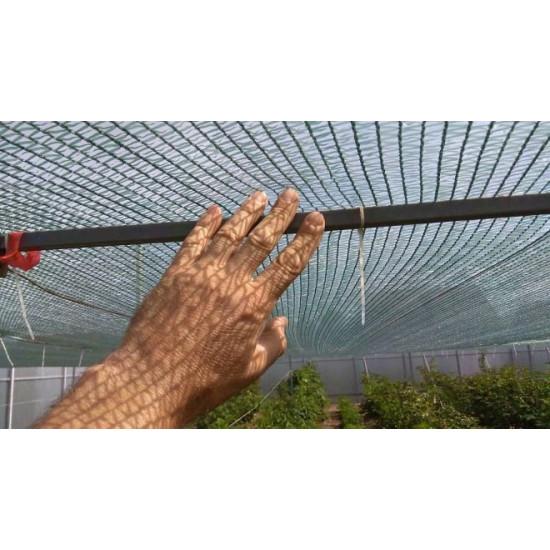 Защитная сетка для растений. Степень затенения 38%